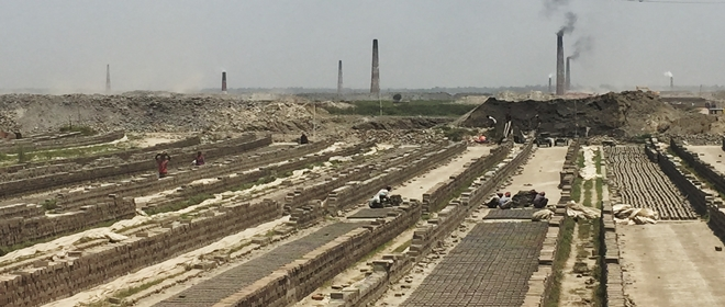 Brick Kilns in Bangladesh